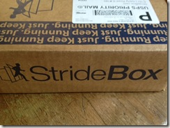 stridebox box